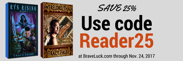 25% off ebooks and audiobooks by Tracy Falbe