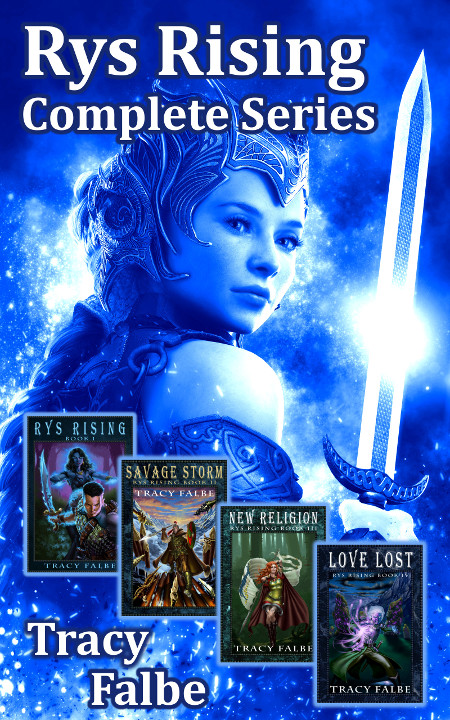 Rys Rising Complete Series Ebook Bundle
