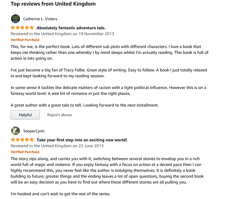 UK Reviews for Rys Rising